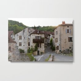 That Village in the French Countryside Metal Print