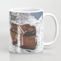 bar Mugs featuring chocolate bar  by mb13
