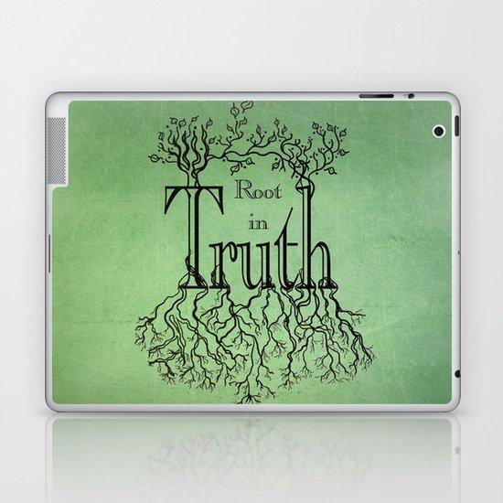 Root in Truth Laptop & iPad Skin