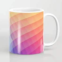 Spectrum Bomb! Fruity Fresh (HDR Rainbow Colorful Experimental Pattern) Coffee Mug