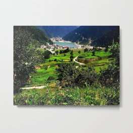 long lake Metal Print