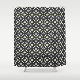Hanami Nummies | Black Matcha Shower Curtain
