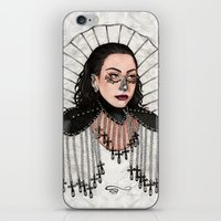 heavy metal iPhone & iPod Skins featuring Heavy Metal Venus by Helen Green