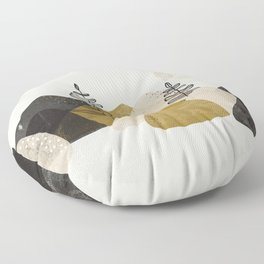 Mountains Floor Pillow