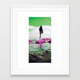 sT Framed Art Print
