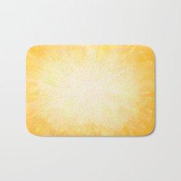 Golden Sunburst Bath Mat
