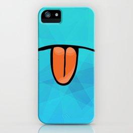 tongue licker iPhone Case