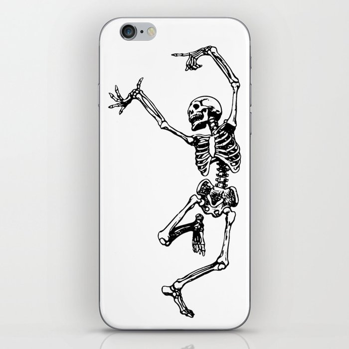 DANCING SKULL iPhone Skin