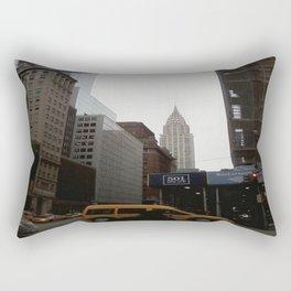 The Chrysler Building, NYC. February 2014 Rectangular Pillow
