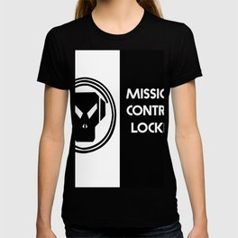 ALIEN BLACK AND WHITE MISSION CONTROL LOCKER T-shirt