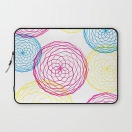 Spiro Blooms Laptop Sleeve
