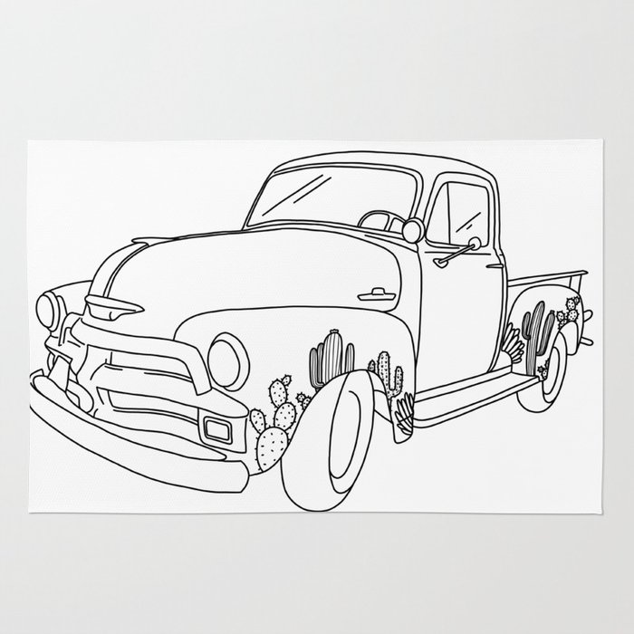 Chevy Truck And Car