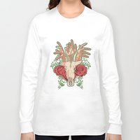 hands Long Sleeve T-shirts featuring Hands by ArDem