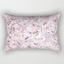 Berry Frosting Art Deco Pattern  Rectangular Pillow