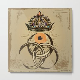 misterio visual 12: coronación ocular Metal Print