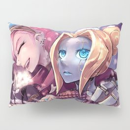 Video Game League Of Legends VI Caitlyn Orianna Ch Pillow Sham