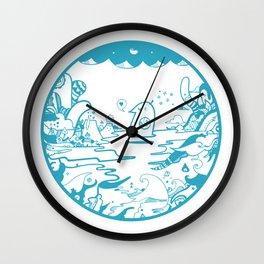 SkyLarking Wall Clock