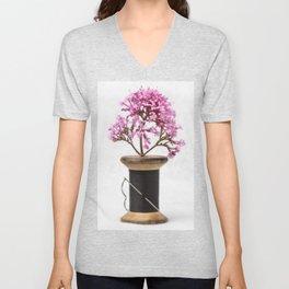 Wooden Vase Unisex V-Neck