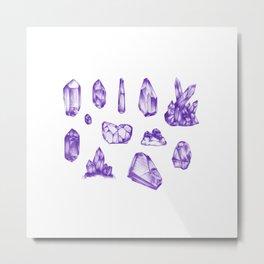 Rocks&minerals Metal Print