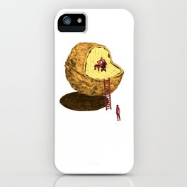 Life in a Nutshell iPhone Case