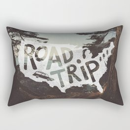 Road Trip USA - big sur Rectangular Pillow
