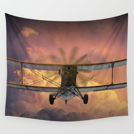 Loud Planes Fly Low Wall Tapestry