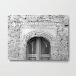 Mosque Doorway Metal Print