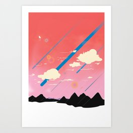 Full of Dreams Art Print