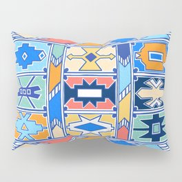 Colorful Ndebele Pattern Pillow Sham
