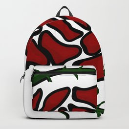 Tatto-style Wild Rose Backpack