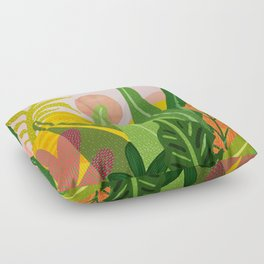 Jungle Morning Floor Pillow