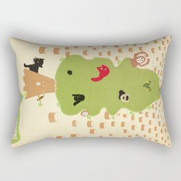 Be Good to Trees Rectangular Pillow