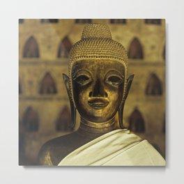 Buddha II Metal Print