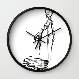 _human error Wall Clock