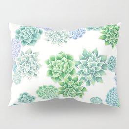 Floral succulent pattern Pillow Sham