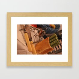 Toast time with Jam Framed Art Print