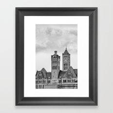 Nashville's Union Station Framed Art Print