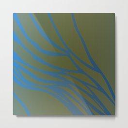 amazonic - design Splash Colors wild Metal Print