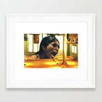 scream Framed Art Prints featuring  SCREAM by tareco