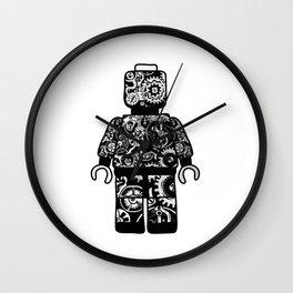 leggo man #2 Wall Clock