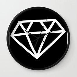 P&Ls: Diamond White Wall Clock