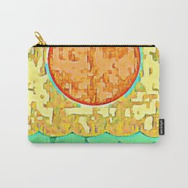 Sanded Sunrise Carry-All Pouch