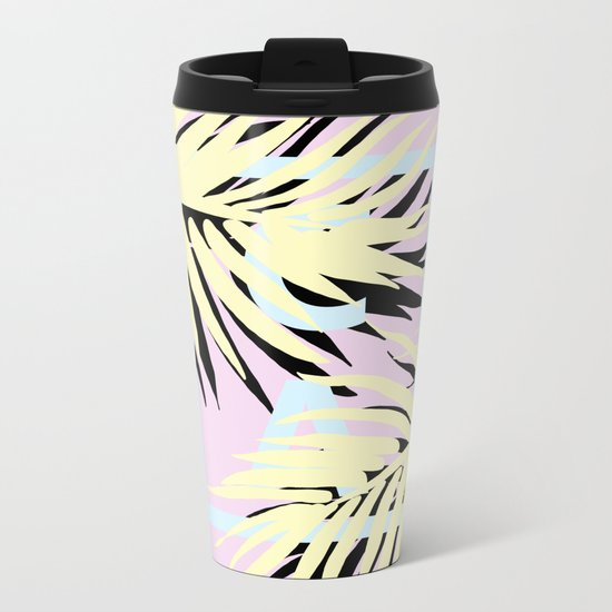 Cali pink Metal Travel Mug