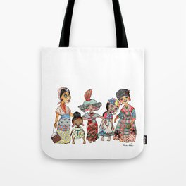 Creole Dolls Tote Bag