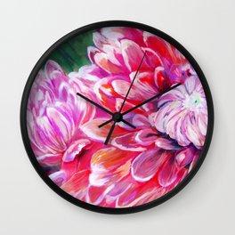 Petal Dance Wall Clock
