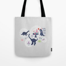 Dinosaur Jello Debutante Party Tote Bag