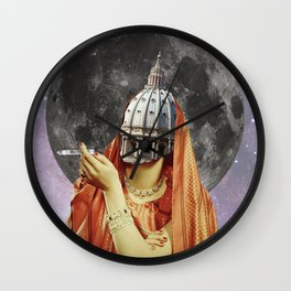 Sophisticated ignorance Wall Clock