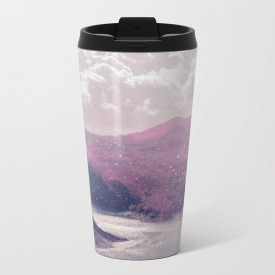Magical Mountains Metal Travel Mug