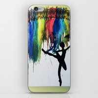 ballet iPhone & iPod Skins featuring Ballet by LexaLA