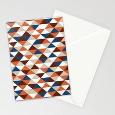 Triangle Pattern #5 Stationery Cards